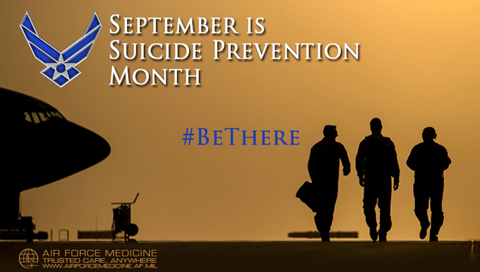 Suicide prevention #BeThere