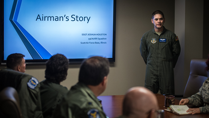 Lessons learned,  an Airman's story